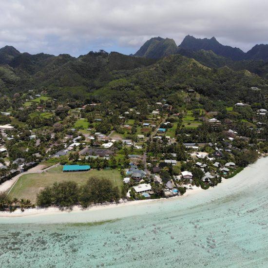 rarotonga island view