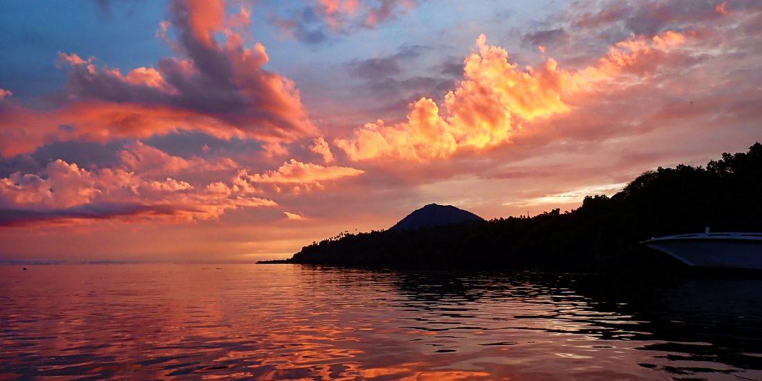 zonsondergang indonesie