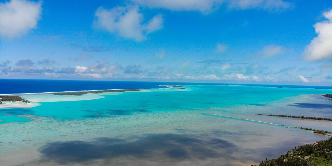 Cook eiland uitkijkpunt