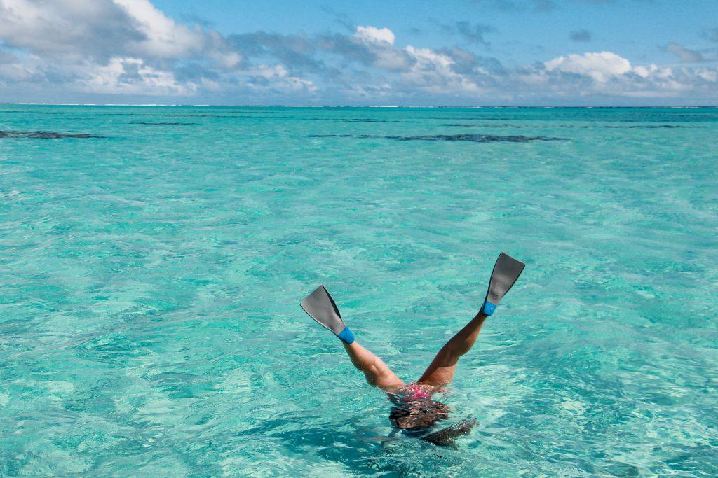 snorkel Aitutaki