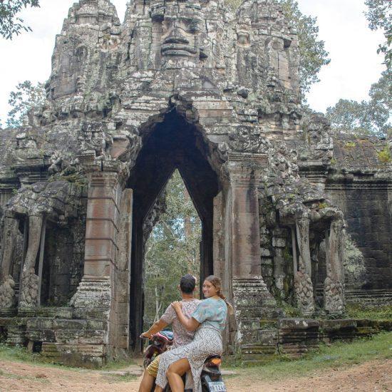 Angkor Wat poort