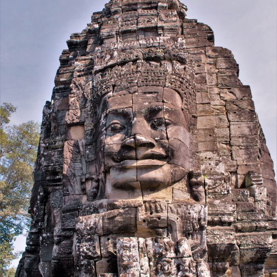 bayon tempel gezicht