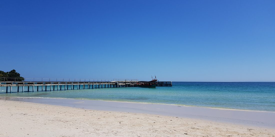 Cambodja Coconut Beach 2v