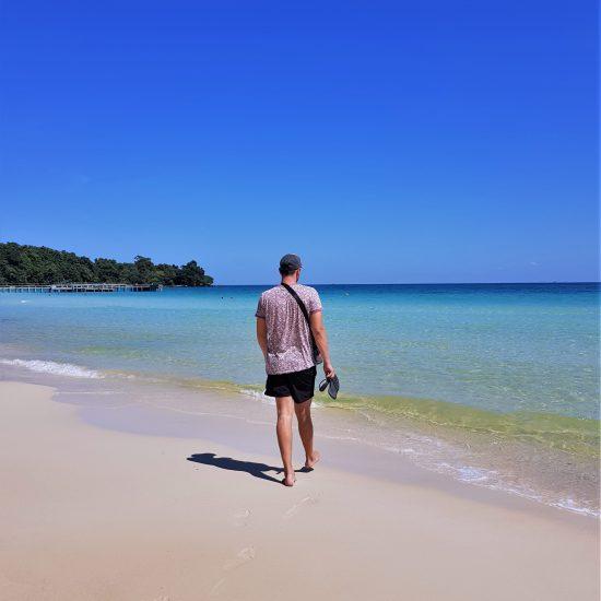 koh-rong, cambodja, coconut beach